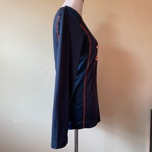NFL Shirts - Mens NFL Chicago Bears Long Sleeve Shirt Size S